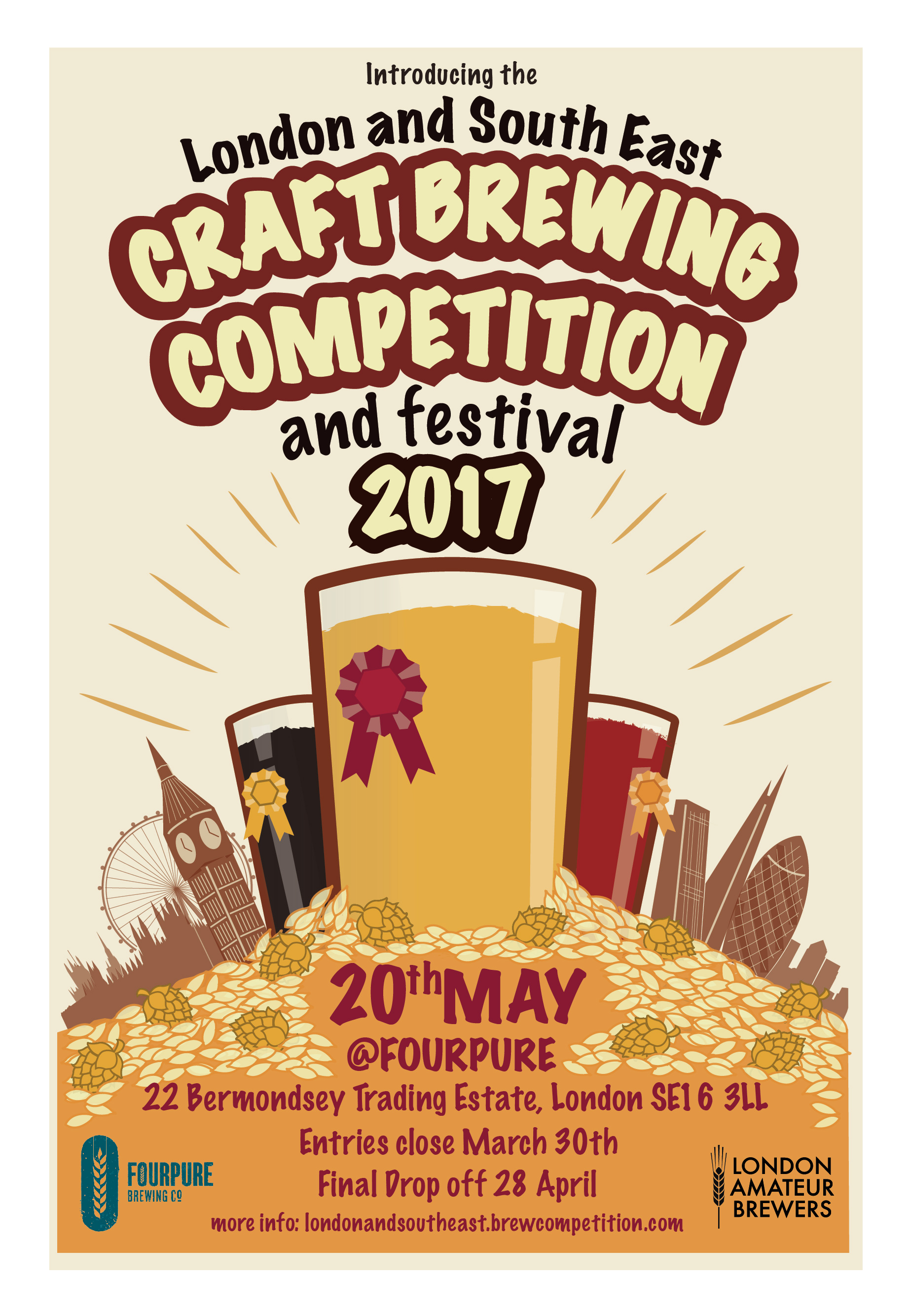 London and South East Craft Brewing Competition