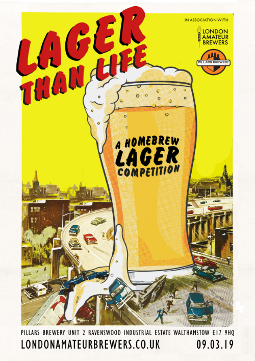 Lager Than Life Homebrew Competition